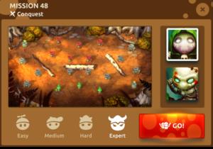 Прохождение кампании | Эпизод 2 | Миссия 48 | Mushroom wars 2