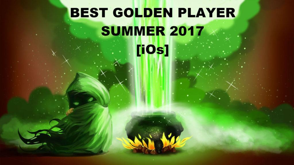 Турнир Best Golden Player Summer 2017 [iOs]