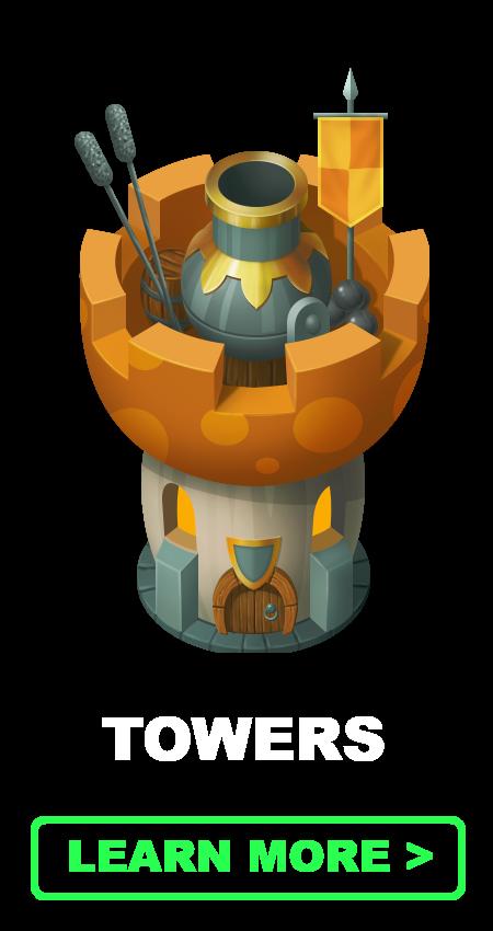Tower | Mushroom Wars 2