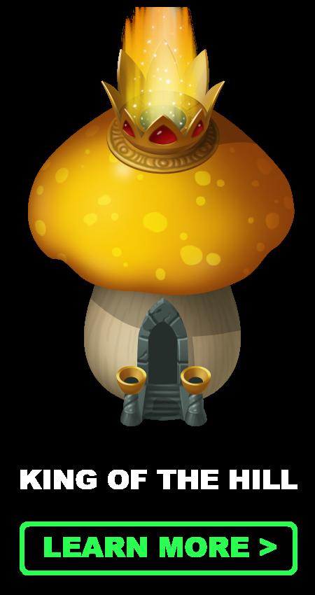 King of the Hill village | Mushroom Wars 2