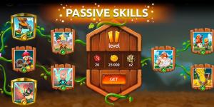 Passive skills Mushroom Wars 2