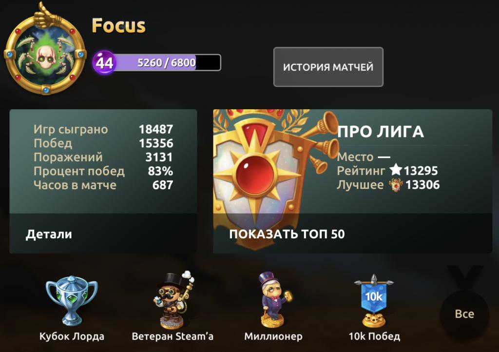 Профиль Focus