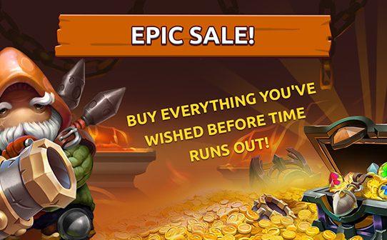 Epic sale