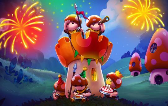 День рождения Mushroom Wars